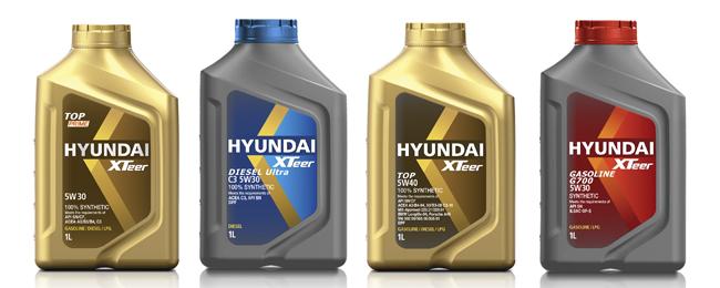 моторное масло HYUNDAI XTeer